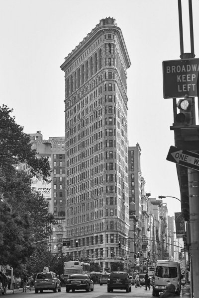 The Flat Iron Building New York USA