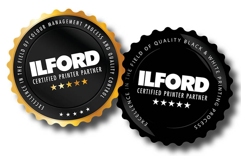 ILFORD - CERTIFIED PRINTER PARTNER BADGE